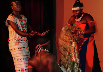 Photograph - Exorcising From Death  by Muyiwa OSIFUYE