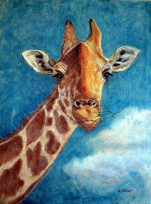 Pastel - Exotic Animal Series by Antonia Citrino