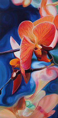 Painting - Exotic Botanics by Karen Hurst