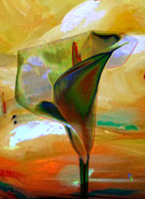 Exotic Calla Lilly Art Print
