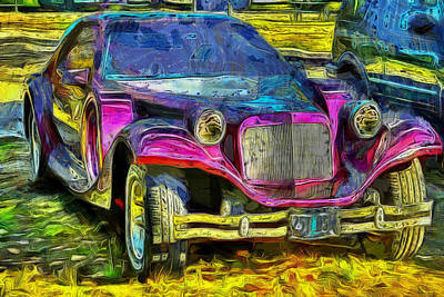 Photograph - Exotic Car by Thom Zehrfeld