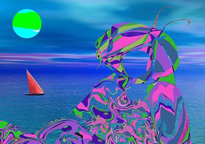 Digital Art - Exotic Dreams by Matthew Lacey