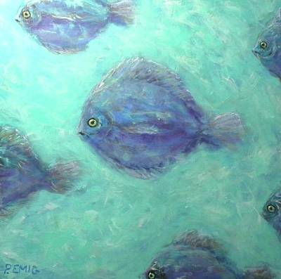 Painting - Exotic Fish by Paul Emig