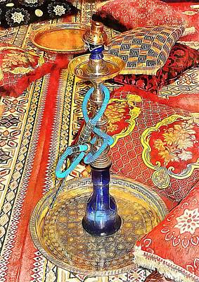 Photograph - Exotic Oriental Hookah Pipe 4 by Dorothy Berry-Lound