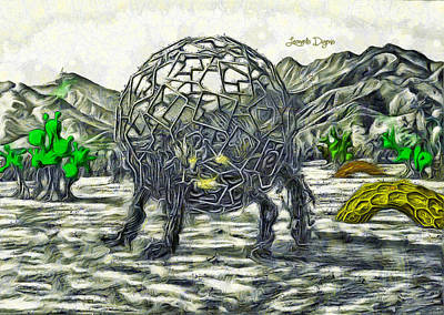 Days Painting - Exotic World by Leonardo Digenio
