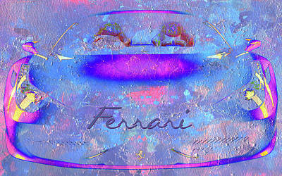 Digital Art - Highway Exotica by Greg Sharpe