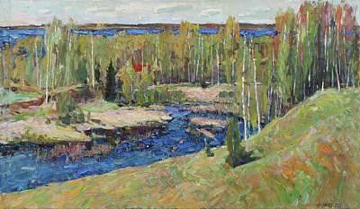 Painting - Expanse Of May by Juliya Zhukova