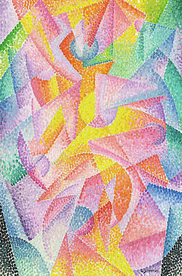 Modern Painting - Expansion Of Light by Gino Severini