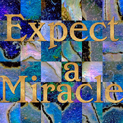 Meditative Digital Art - Expect A Miracle Abalone by Susan Ragsdale