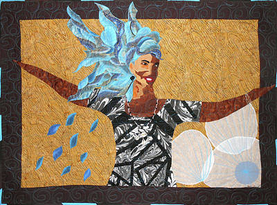Tapestry - Textile - Expect A Miracle by Aisha Lumumba