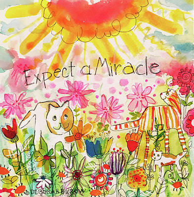 Painting - Expect A Miracle by Deborah Burow