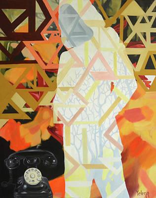 Bondi Painting - Expectation by Yelena Revis