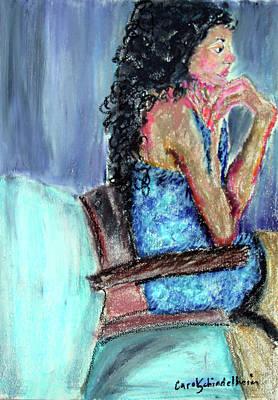 Painting - Expecting by Carol Schindelheim