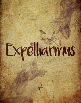 Fantasy Digital Art - Expelliarmus by Samuel Whitton