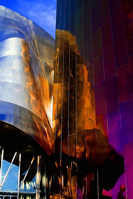 Emp Photograph - Experience Music Project by David Patterson