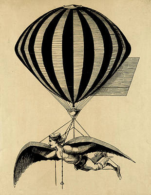 Drawing - Experimental Aviation by Vintage Pix
