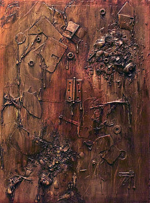Must Art Painting - Exploded by Joshua Allegrucci