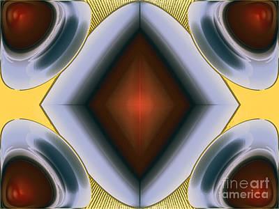 Exploding Drops Art Print by Patrick Guidato