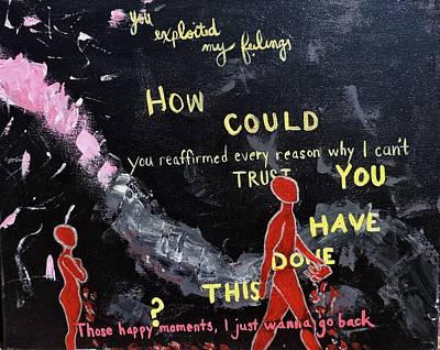 Love Painting - Exploitation by Jasmine Bradley