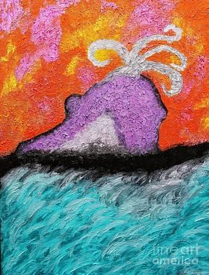 Painting - Exploration Fanospherelia Continues by Rachel Hannah