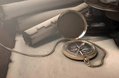 Jewellery Digital Art - Exploration Table by Allan Swart
