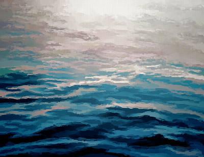 Exploration Mixed Media - Exploration...nautical by Tom Druin