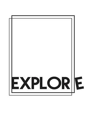 Black Top Mixed Media - Explore by Studio Grafiikka