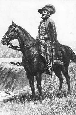 Explorer Juan Bautista De Anza Art Print by Underwood Archives