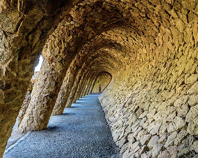 Antoni Gaudi Wall Art - Photograph - Explorer by Randy Scherkenbach