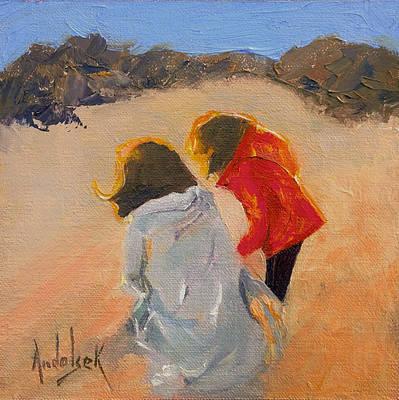 Painting - Exploring by Barbara Andolsek