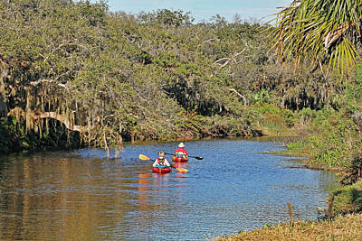 Photograph - Exploring Florida's Waterways by HH Photography of Florida
