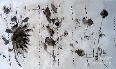 Painting - Exploring Ink by Nancy Kane Chapman