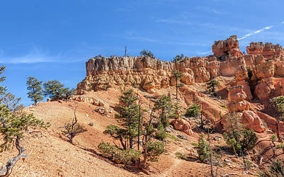 Photograph - Exploring Red Canyon by John M Bailey