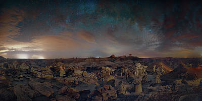 Digital Art - Exploring The Bisti Badlands Of New Mexico by Lena  Owens OLena Art