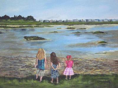 Painting - Exploring The Marshes by Paula Pagliughi