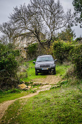 Gravel Road Photograph - Exploring The Ruins II by Marco Oliveira