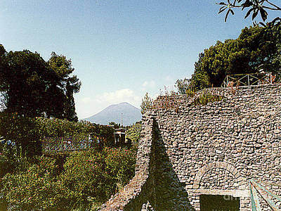Photograph - Exploring The Ruins Of Pompei, Italy by Merton Allen