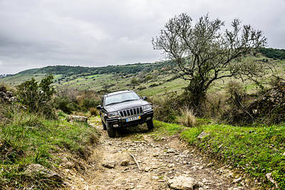 Gravel Road Photograph - Exploring The Trails by Marco Oliveira