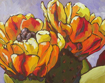 Sonoran Desert Painting - Explosion Of Color by Sandy Tracey