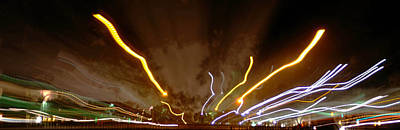 Photograph - Explosion Of Lights by Gary Brandes