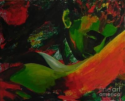 Explosion Of The Elements 5 Original by Jolanta Shiloni