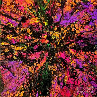 Painting - Explosion by Sandra Lett