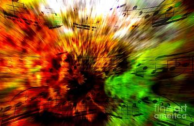Digital Art - Explosive Exposition by Lon Chaffin