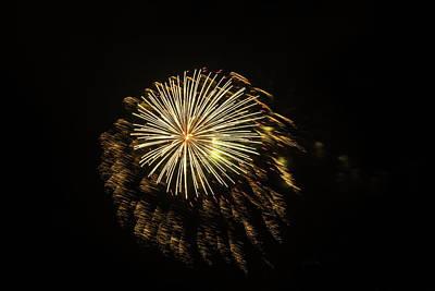 Photograph - Explosive Fireworks by Debra Martz