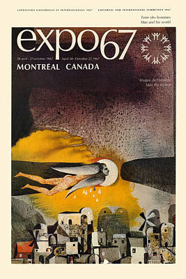 Expo 67 Art Print by Andrew Fare