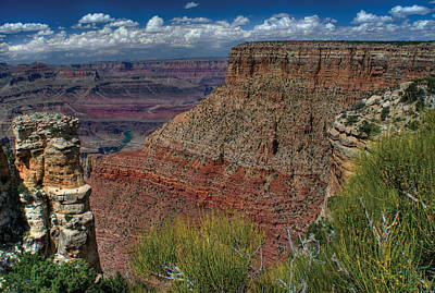 Photograph - Exposed Grand Canyon Sentinel by Don Wolf
