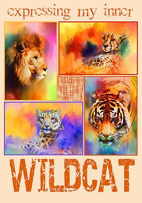 Photograph - Expressing My Inner Wildcat by Jai Johnson