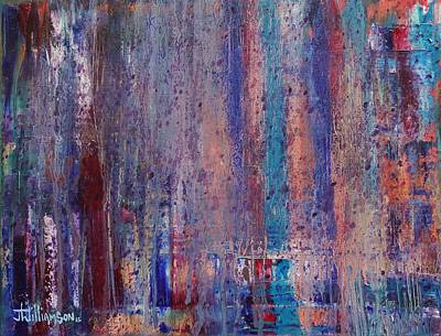 Painting - Expression # 9 The Blues Down And Out by Jason Williamson