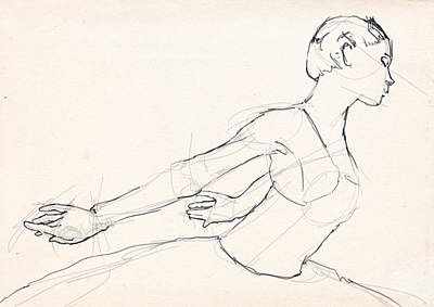 Figure Drawing - Structure by H James Hoff