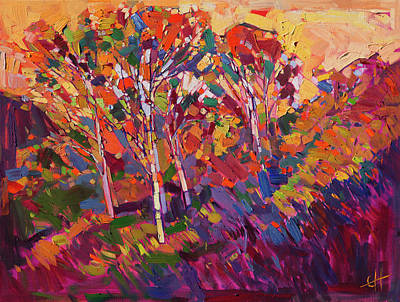 Vibrancy Painting - Expression Of Color by Erin Hanson
